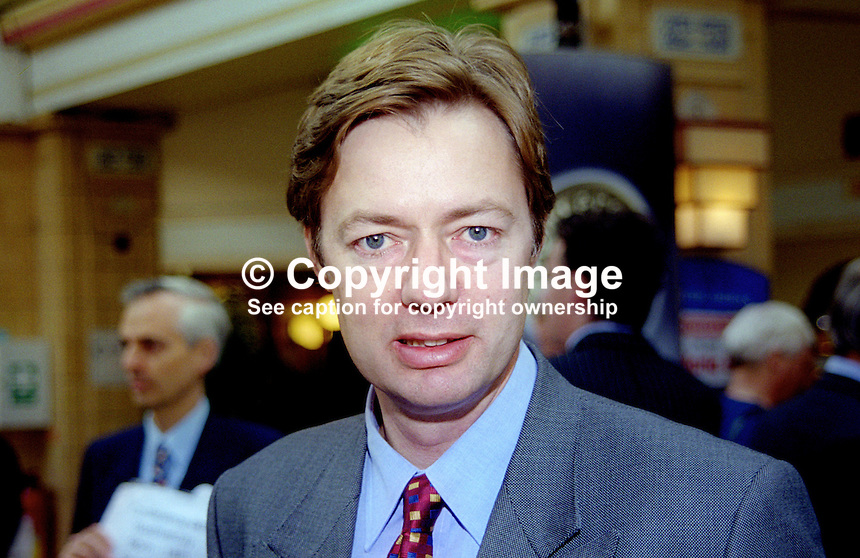 Gary Streeter, MP, Conservative Party, UK, October, 1999, 1999100262<br /> <br /> Copyright Image from Victor Patterson,<br /> 54 Dorchester Park, Belfast, UK, BT9 6RJ<br /> <br /> t1: +44 28 90661296<br /> t2: +44 28 90022446<br /> m: +44 7802 353836<br /> <br /> e1: victorpatterson@me.com<br /> e2: victorpatterson@gmail.com<br /> <br /> For my Terms and Conditions of Use go to<br /> www.victorpatterson.com