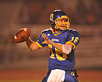 Oxford High quarterback Guy Cameron Billups (16) vs. West Point in high school playoff action in Oxford, Miss. on Friday, November 19, 2010. West Point won 27-12.