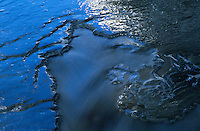 &quot;Iced Over Alder Creek 1&quot;- Photographed at Alder Creek in the Tahoe Donner area of Truckee, CA.<br />
