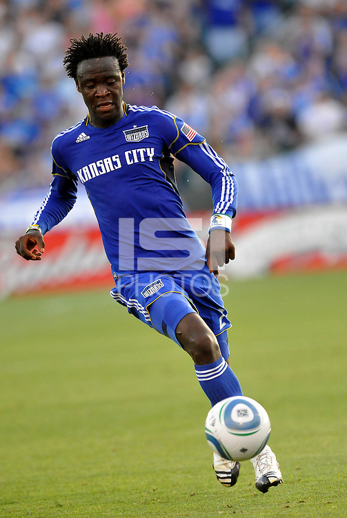 Kei Kamara...Kansas City Wizards defeated Toronto FC 1-0 at Community America Ballpark, Kansas City, Kansas,