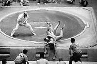 Sumo wrestling by Gary Calton