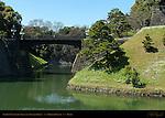 Seimon Tetsubashi Main Gate Iron Bridge Nijubashi double bridge Nijubashi Bori Imperial Palace Tokyo