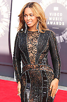 LOS ANGELES, CA, USA - AUGUST 24: Beyonce at the 2014 MTV Video Music Awards held at The Forum on August 24, 2014 in the Los Angeles, California, United States. (Photo by Xavier Collin/Celebrity Monitor)