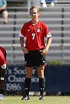 04 October 2009: Maryland's Caitlin McDowell. The University of Maryland Terrapins defeated the Duke University Blue Devils 4-0 at Koskinen Stadium in Durham, North Carolina in an NCAA Division I Women's college soccer game.