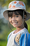 Wan Yisien, 10, lives in the Cambodian village of Talom.