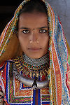 Portrait of a Meghwal woman, Gujarat, India