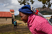 11 May 2011, Matsieng Village, near Morija, Lesotho. St. Matthews Primary School.