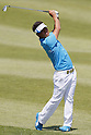 Hideto Tanihara, MAY 13, 2012 - Golf : Hideto Tanihara watches his approach shot to the 13th hole during the PGA Championship Nissin Cupnoodles Cup 2012 final round at Karasuyamajo Country Club, Tochigi, Japan. (Photo by Yusuke Nakanishi/AFLO SPORT) [1090]