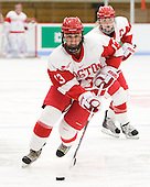 Freshman Kaleigh Fratkin (BU - 13) was the first female to play on a BC midget major boy's team and helped them win the 2010 provincial championship. - The Boston University Terriers defeated the visiting University of Windsor Lancers 4-1 in a Saturday afternoon, September 25, 2010, exhibition game at Walter Brown Arena in Boston, MA.
