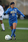 04 December 2009: UCLA's Chelsea Cline. The Stanford University Cardinal defeated the University of California Los Angeles Bruins 2-1 in sudden victory overtime at the Aggie Soccer Complex in College Station, Texas in an NCAA Division I Women's College Cup Semifinal game.