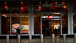 People walk in front of a Verizon store while Verizon Management discusses Q4 2011 results in New York, United States. 23/01/2012.  Photo by Eduardo Munoz Alvarez / VIEWpress.