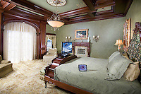 Grand Bedroom With Custom Millwork