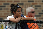 20 September 2009: North Carolina's Ranee Premji (CAN) watches the game. The Duke University Blue Devils played the Louisiana State University Tigers to a 2-2 tie after overtime at Koskinen Stadium in Durham, North Carolina in an NCAA Division I Women's college soccer game.