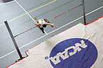12 MAR 2011: Julia Barenek of Wisconsin Eau Claire high jumps during the Division III Men's and Women's Indoor Track and Field Championships held at the Capital Center Fieldhouse on the Capital University campus in Columbus, OH.  Jay LaPrete/NCAA Photos