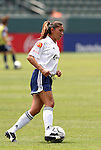 27 June 2004: Tiffany Roberts. The San Diego Spirit defeated the Carolina Courage 2-1 at the Home Depot Center in Carson, CA in Womens United Soccer Association soccer game featuring guest players from other teams.