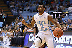 24 October 2014: North Carolina's Joel Berry II. The University of North Carolina Tar Heels played the Fayetteville State University Broncos in an NCAA Division I Men's basketball exhibition game at the Dean E. Smith Center in Chapel Hill, North Carolina. UNC won the exhibition 111-58.
