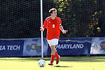 10 November 2010: Clemson's Tommy Drake. The University of Maryland Terrapins defeated the Clemson University Tigers 2-1 at Koka Booth Stadium at WakeMed Soccer Park in Cary, North Carolina in an ACC Men's Soccer Tournament Quarterfinal game.
