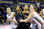 WSU vs UW Women's Basketball 1/15/13