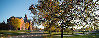 University Place and the UVM Green, Fall UVM Campus