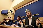M5S, conferenza stampa su sfiducia a Maria Elena Boschi