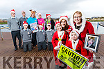 Pictured at the launch of the Wetlands Santa Run which takes place on Sunday 11th December, in foreground are Sophie, Mags and Jamie Quillinan and Deirdre Moore.<br /> At back are Front Owen Healy, Cormac Lynch  and Micheal Dolan. Back from left: Caoimhin Lynch, Niall Fitzmaurice, Martin Moore, Helen Kelliher and Aoife Moynihan.