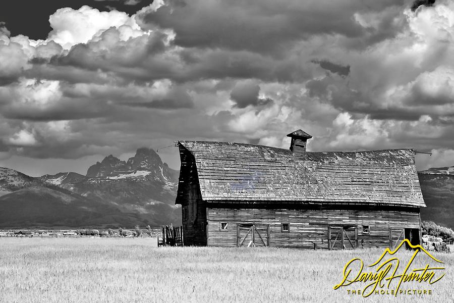 Old Barn, Grand Tetons, Tetonia, Idaho