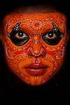 Theyyam dancer, Cochin, Kerala, India