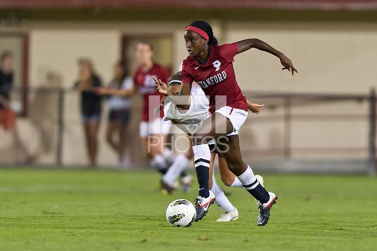 STANFORD, CA - SEPTEMBER 18: Stanford defeats Santa Clara 2-0 in a women's soccer match on September 18, 2011 in Santa Clara, California.