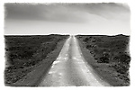 Empty single-track road, Islay, Scotland