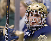 Ryan Guentzel (Notre Dame - 27) - The University of Notre Dame Fighting Irish defeated the Merrimack College Warriors 4-3 in overtime in their NCAA Northeast Regional Semi-Final on Saturday, March 26, 2011, at Verizon Wireless Arena in Manchester, New Hampshire.