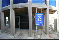 BNPS.co.uk (01202 558833)<br /> Pic: SteveTucker/BNPS<br /> <br /> The Broadchurch police station in  West Bay in Dorset, where ITV's Broadchurch was filmed.<br /> <br /> While the whole country has been enjoying the final series of TV drama Broadchurch, no one is relishing the show more than the businesses of West Bay.<br /> <br /> The 'Broadchurch effect' has sent visitor numbers to the sleepy Dorset town, where the show is set, skyrocketing in the past four years.<br /> <br /> And the latest, and final, series, which finishes on Monday, has only fanned the flames, with a host of new businesses benefiting from their association with the show.<br /> <br /> Tourism organisation Visit Dorset has experienced an increase of 133 per cent in enquries and bookings on its website.<br /> <br /> Local businesses which feature on screen have also seen their profits soar thanks to 'Broadies' who stop for a selfie before calling in to make a purchase.<br /> <br /> One premises in particular has been the Washingpool Farm Shop, which is Flintcombe Farm Shop run by Lenny Henry's character Ed Burnett in Broadchurch.