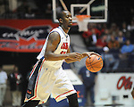 Ole Miss' Ladarius White (10) vs. Coastal Carolina at the C.M. &quot;Tad&quot; Smith Coliseum in Oxford, Miss. on Tuesday, November 13, 2012. (AP Photo/Oxford Eagle, Bruce Newman)