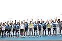 Kawasaki Frontale team group, MAY 15th, 2011 - Football : Kawasaki Frontale players acknowledge fans after the 2011 J.League Division 1 match between Kawasaki Frontale 3-2 Kashima Antlers at Todoroki Stadium in Kanagawa, Japan. (Photo by Kenzaburo Matsuoka/AFLO).