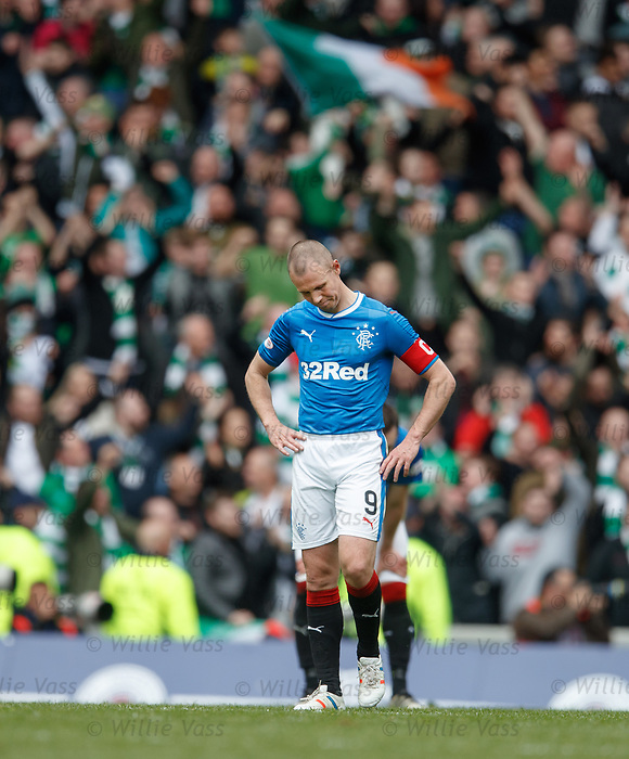 Rangers dejection, Kenny Miller
