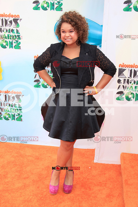 Rachel Crow at Nickelodeon's 25th Annual Kids' Choice Awards at The Galen Center on March 31, 2012 in Los Angeles, California. © mpi26/MediaPunch Inc.