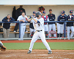 Ole Miss' Auston Bousfield (9) vs. North Carolina-Wilmington  at Oxford-University Stadium in Oxford, Miss. on Saturday, February 25, 2012. Ole Miss won 6-4.