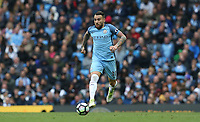 Manchester City's Nicolas Otamendi<br /> <br /> Photographer Stephen White/CameraSport<br /> <br /> The Premier League - Manchester City v Leicester City - Saturday 13th May 2017 - Etihad Stadium - Manchester<br /> <br /> World Copyright &copy; 2017 CameraSport. All rights reserved. 43 Linden Ave. Countesthorpe. Leicester. England. LE8 5PG - Tel: +44 (0) 116 277 4147 - admin@camerasport.com - www.camerasport.com