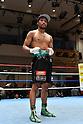 Rikki Naito (JPN),<br /> APRIL 10, 2017 - Boxing :<br /> Rikki Naito of Japan poses after winning the 8R lightweight bout at Korakuen Hall in Tokyo, Japan. (Photo by Hiroaki Yamaguchi/AFLO)