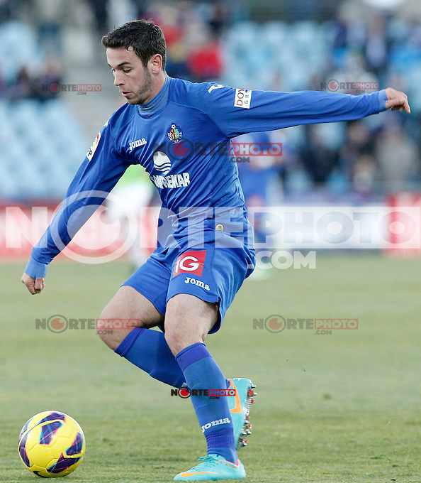 Getafe's Alvaro Vazquez during La Liga match.December 01,2012. (ALTERPHOTOS/Acero) ©/NortePhoto