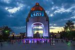 Mexico, Mexico City, Plaza de la Republica, Monument to the Revolution