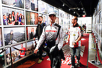 Monster Energy AMA Supercross world Championship Rider Chad Reed Visits The Empire State Building in New York , April 23, 2014. VIEWPRESS/Kena Betancur