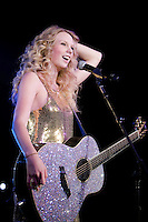 US Country/Pop super star Taylor Swift performing at Billboard The Venue, Melbourne, 10 March 2009