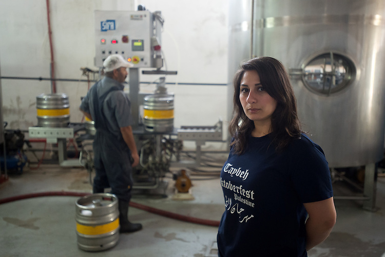 PALESTINE Taybeh, West Bank<br /> <br /> Taybeh Brewery Company:<br /> <br /> Madees Khoury, general manager of the brewery.
