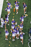 Nov 08, 2014:  Washington cheerleader Brittany Paige Kinal pumped up fans during the game against UCLA.  Washington defeated UCLA at Husky Stadium in Seattle, WA.