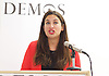 Andy Burnham MP and Luciana Berger MP speech to launch Labour&rsquo;s public health policy at Demos, London, Great Britain <br /> 15th January 2015 <br /> <br /> <br /> <br /> Luciana Berger MP <br /> <br /> <br /> <br /> Photograph by Elliott Franks <br /> Image licensed to Elliott Franks Photography Services