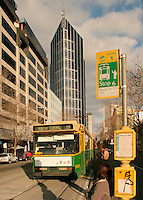 Melbourne street scene including tram..For larger JPEGs and TIFF Contact EFFECTIVE WORKING IMAGE via our contact page at : www.photography4business.com