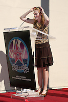 Marg Helgenberger    at  the Hollywood Walk of Fame Star Ceremony for WIlliam Petersen in front of Musso's & Franks Resturant in Los Angeles, CA on .February 3, 2009.©2008 Kathy Hutchins / Hutchins Photo..