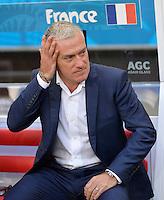 FUSSBALL WM 2014  VORRUNDE    GRUPPE E     Schweiz - Frankreich                   20.06.2014 Trainer Laurent Blanc (Frankreich)