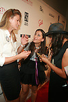 U.S. 2012 Olympic Gold Medalist Susan Francia, Stacy Igel and Rosario Dawson -Arrivals -Boy Meets Girl Forever Young Fashion Show Held at Style 360, NY   9/12/12