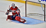 21 September 2009: Montreal Canadiens' goaltender Carey Price gives up a goal to Bill Guerin in the third period of a pre-season game against the Pittsburgh Penguins at the Bell Centre in Montreal, Quebec, Canada. The Canadiens edged out the defending Stanley Cup Champions 4-3. Mandatory Credit: Ed Wolfstein Photo